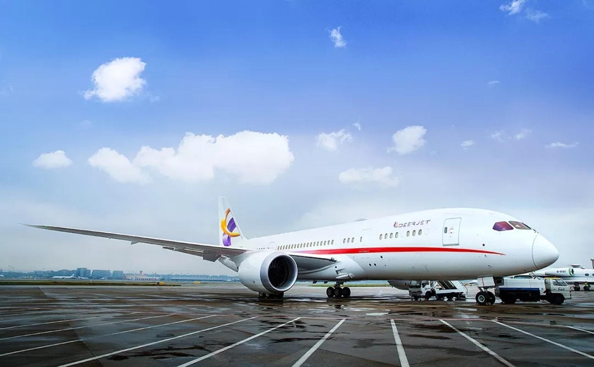 金鹿航空波音787公務機(一条授權使用)