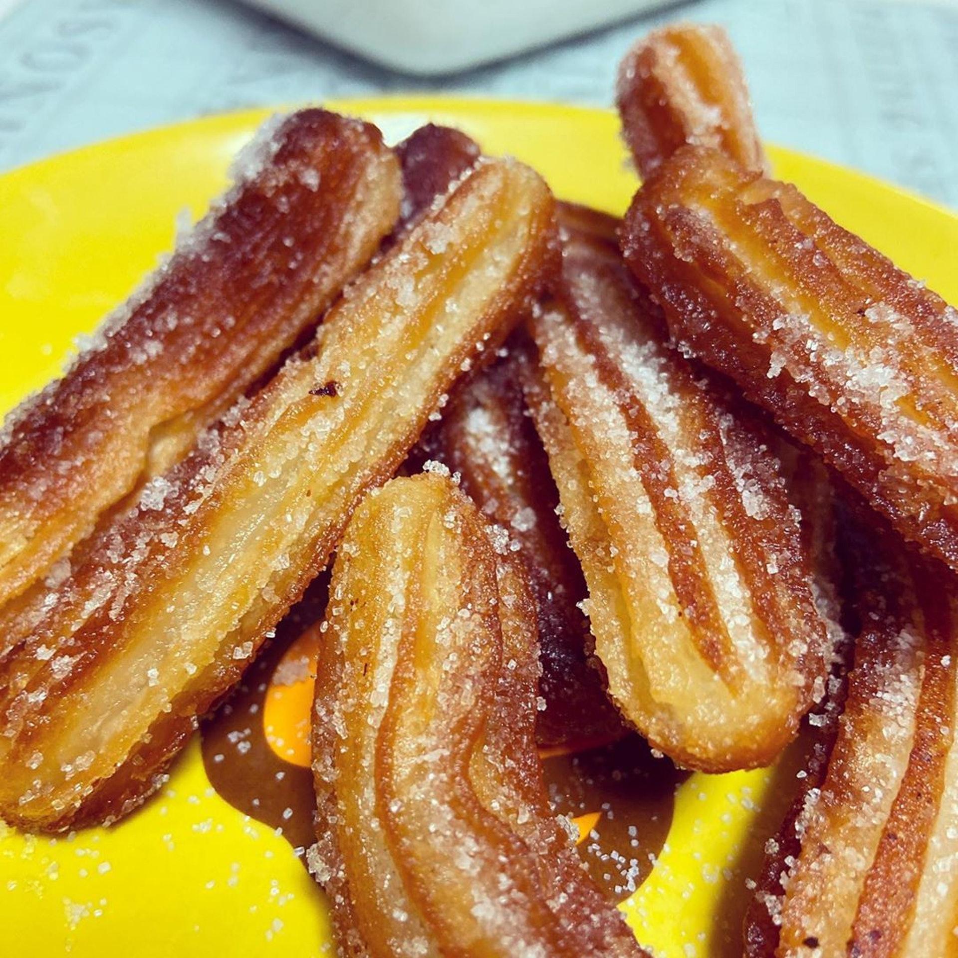【2】Churros非常香脆和香甜。(ig@ tmikau)