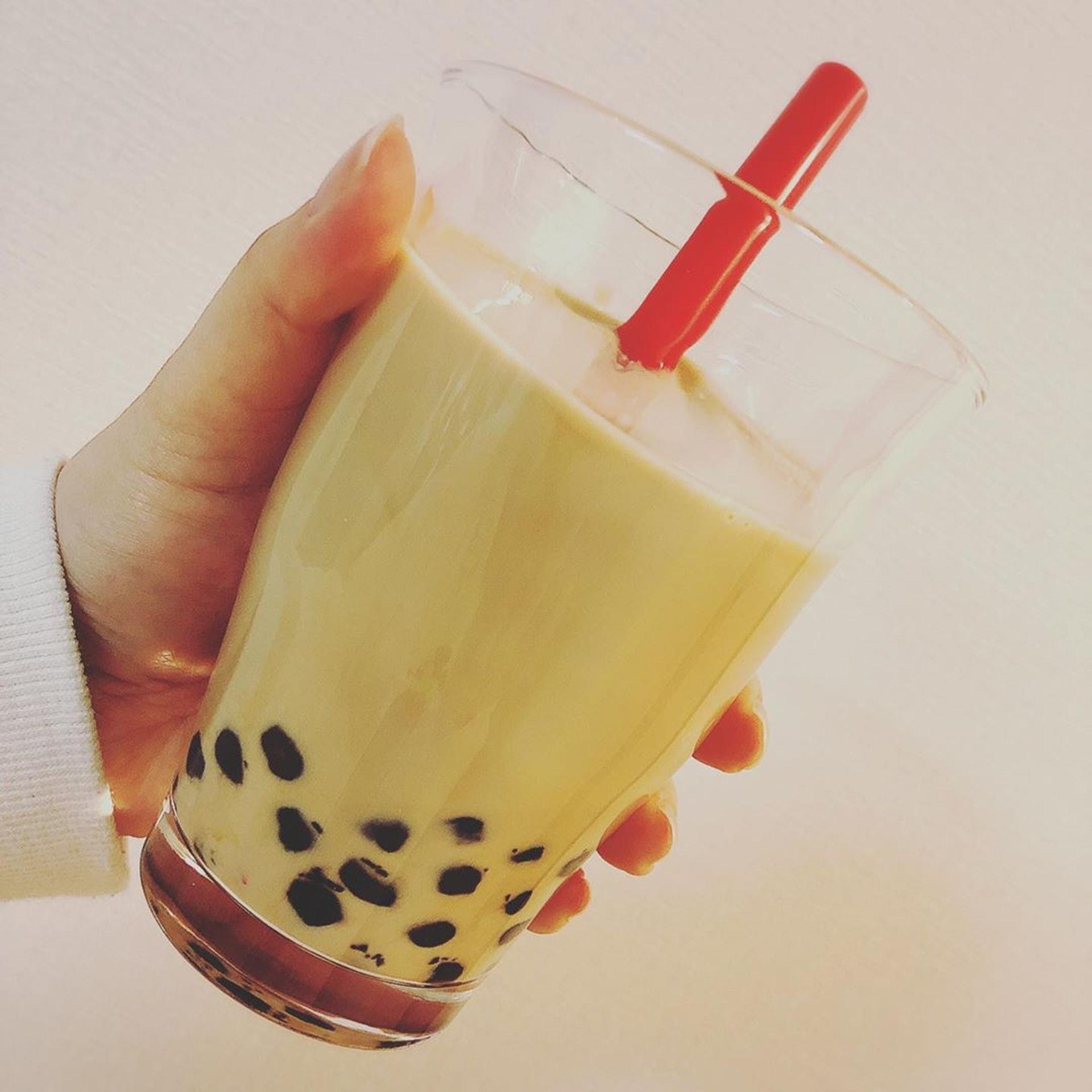 【3】網民分享自製的珍珠奶茶,看上去非常成功!(ig@ n0718)