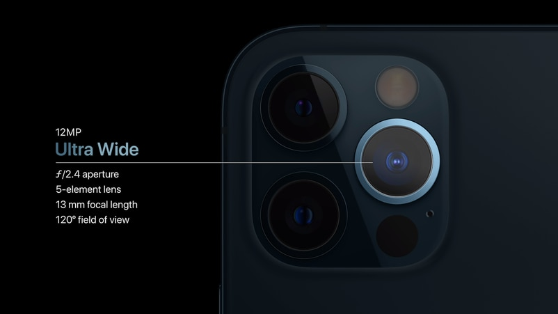 iPhone 12 Pro和iPhone 12 Pro Max用上3鏡頭和LiDar感測器。